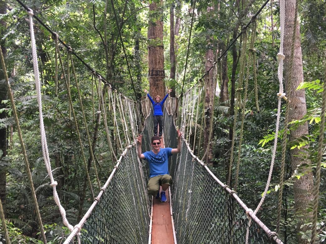 Canopy walk Teman Negara (5)
