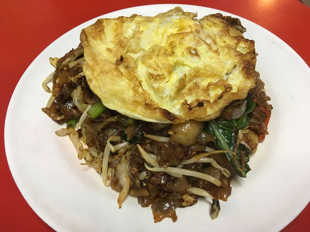 Fried Kueh Teow Egg-min