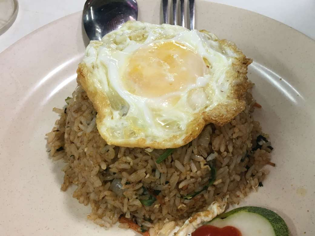 Fried rice and egg-min