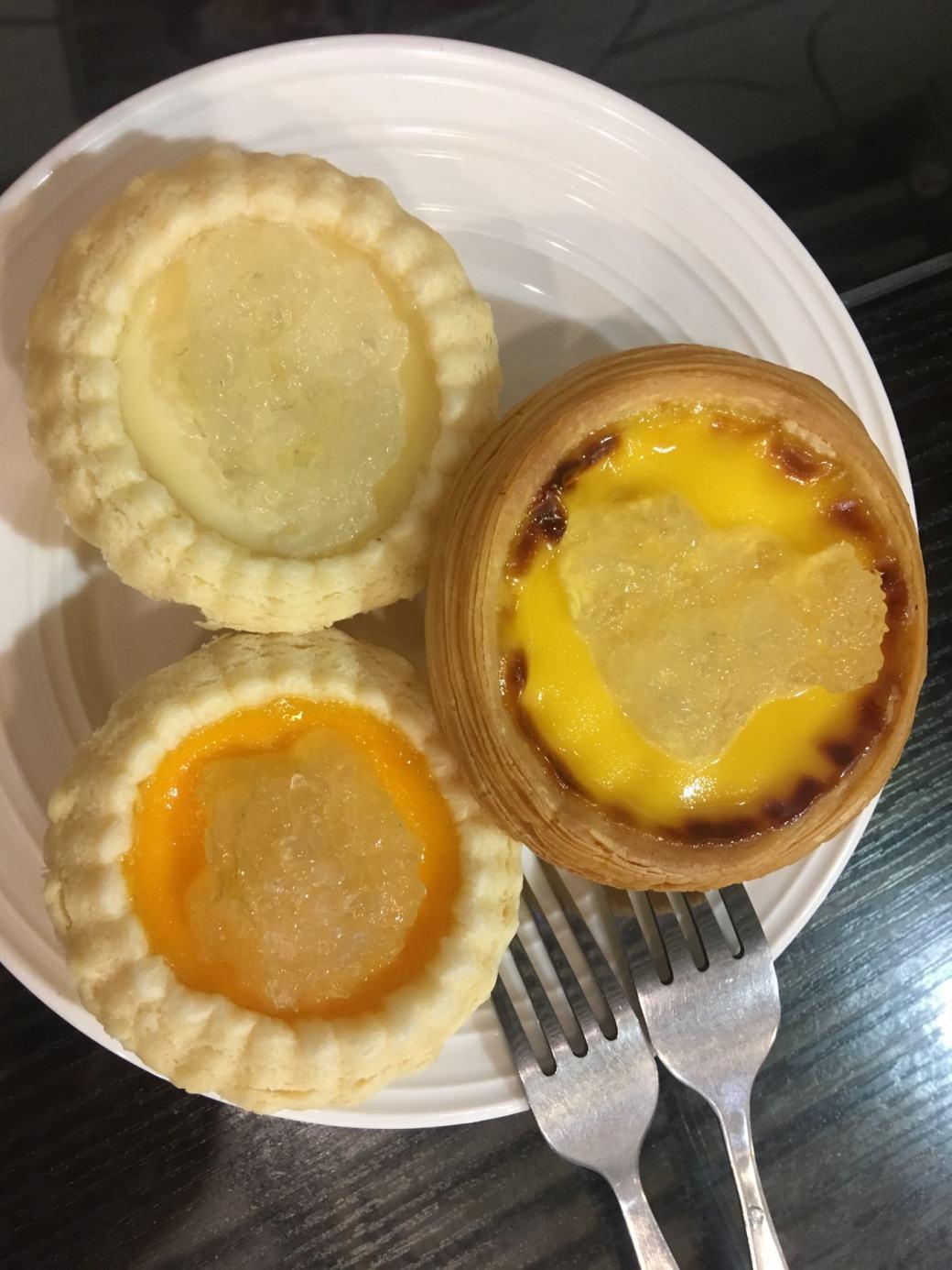 Egg tarts Macao