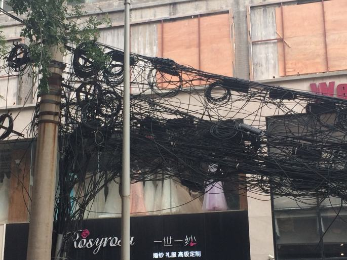 Electric wires Xian