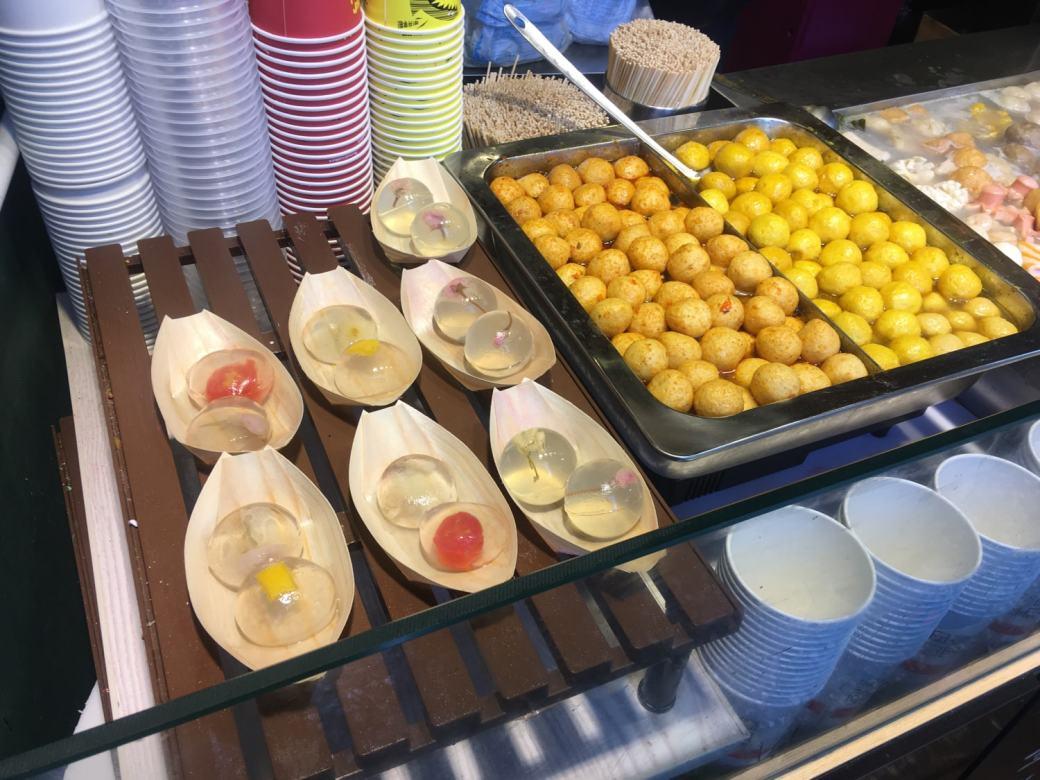 Food stalls Lijiang (1)