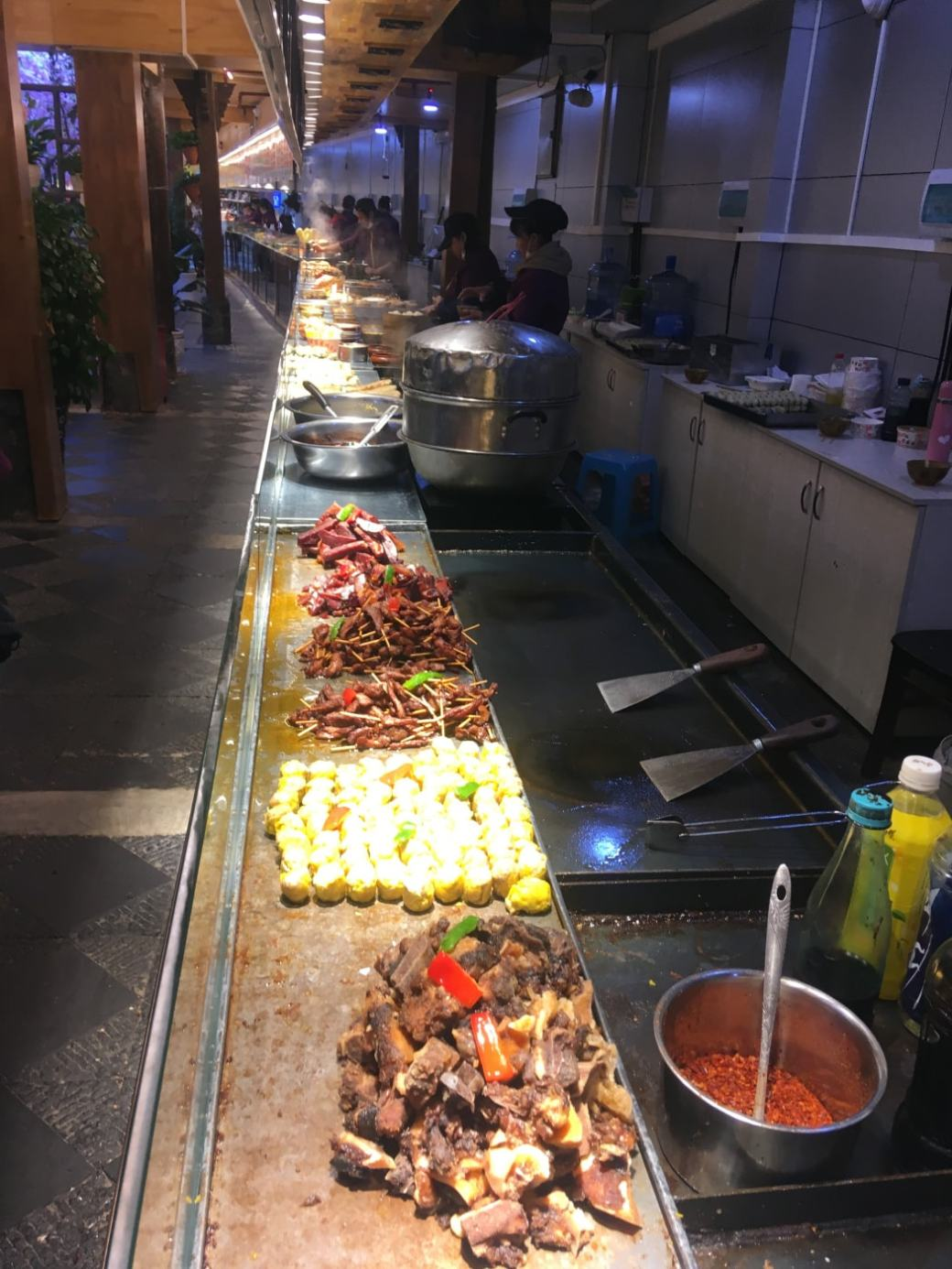 Food stalls Lijiang (5)