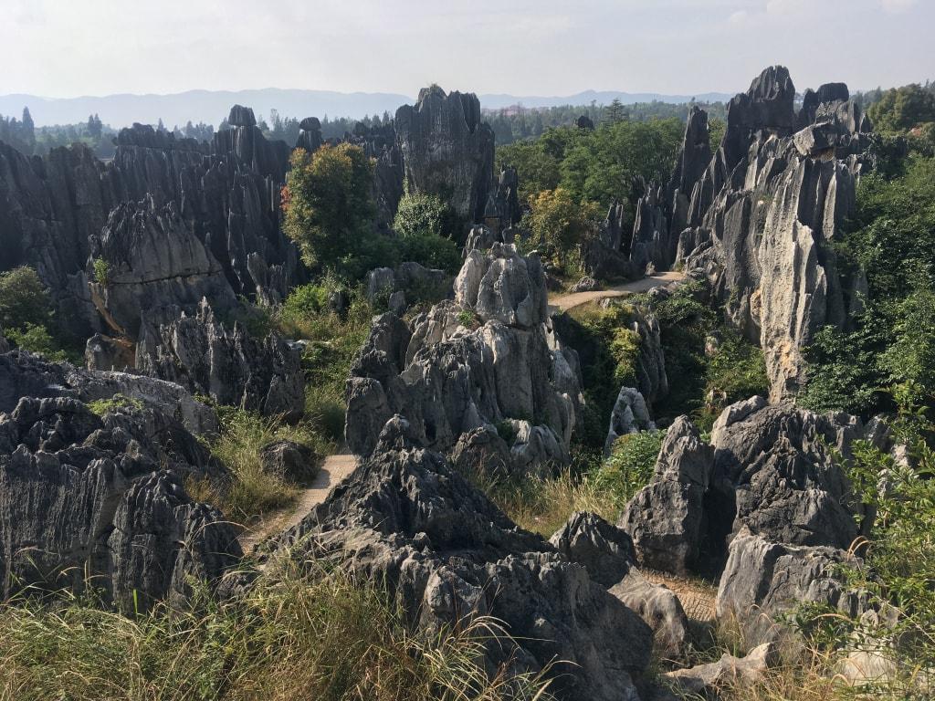 Foret de pierres Shilin (15)