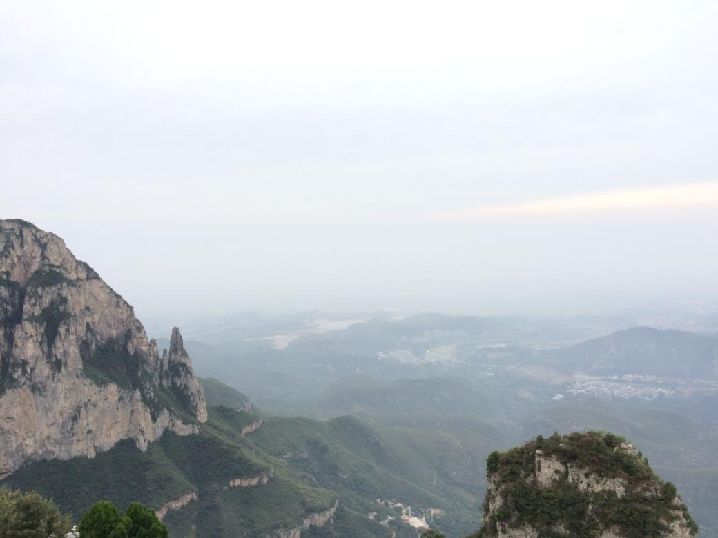 Glass Walk Yuntaishan et vue sur la vallée (1)