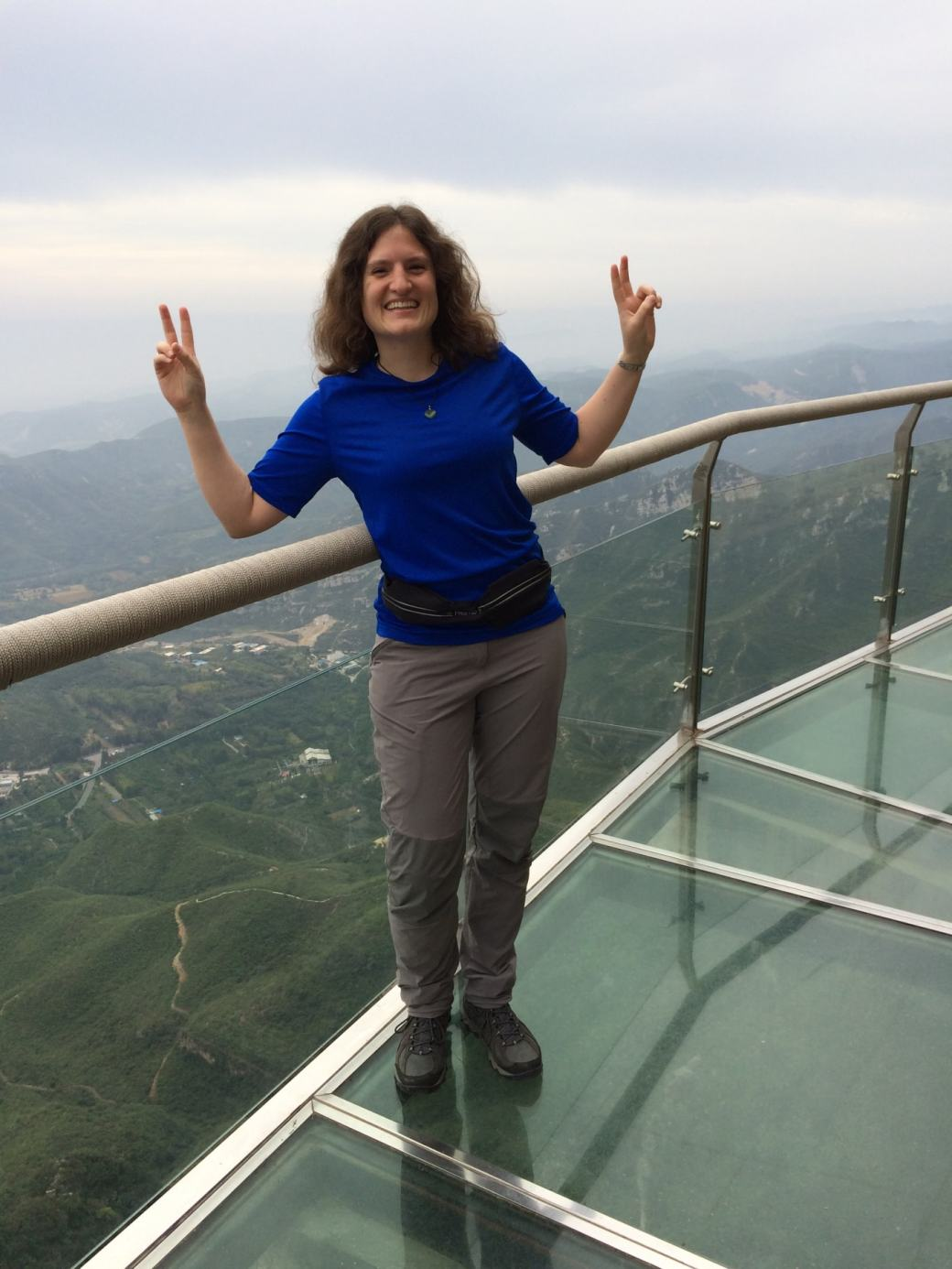 Glass Walk Yuntaishan et vue sur la vallée (6)