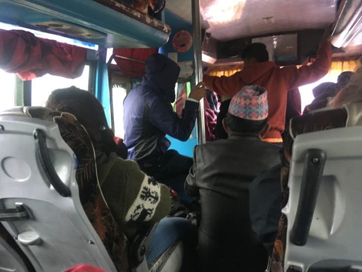 Nepali bus