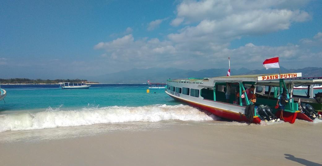 Public ferry Bengsal - Gili Trawangan (1)