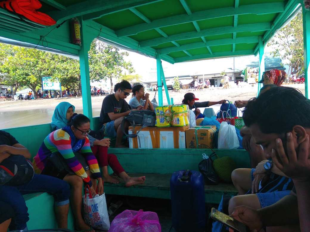 Public ferry Bengsal - Gili Trawangan (2)