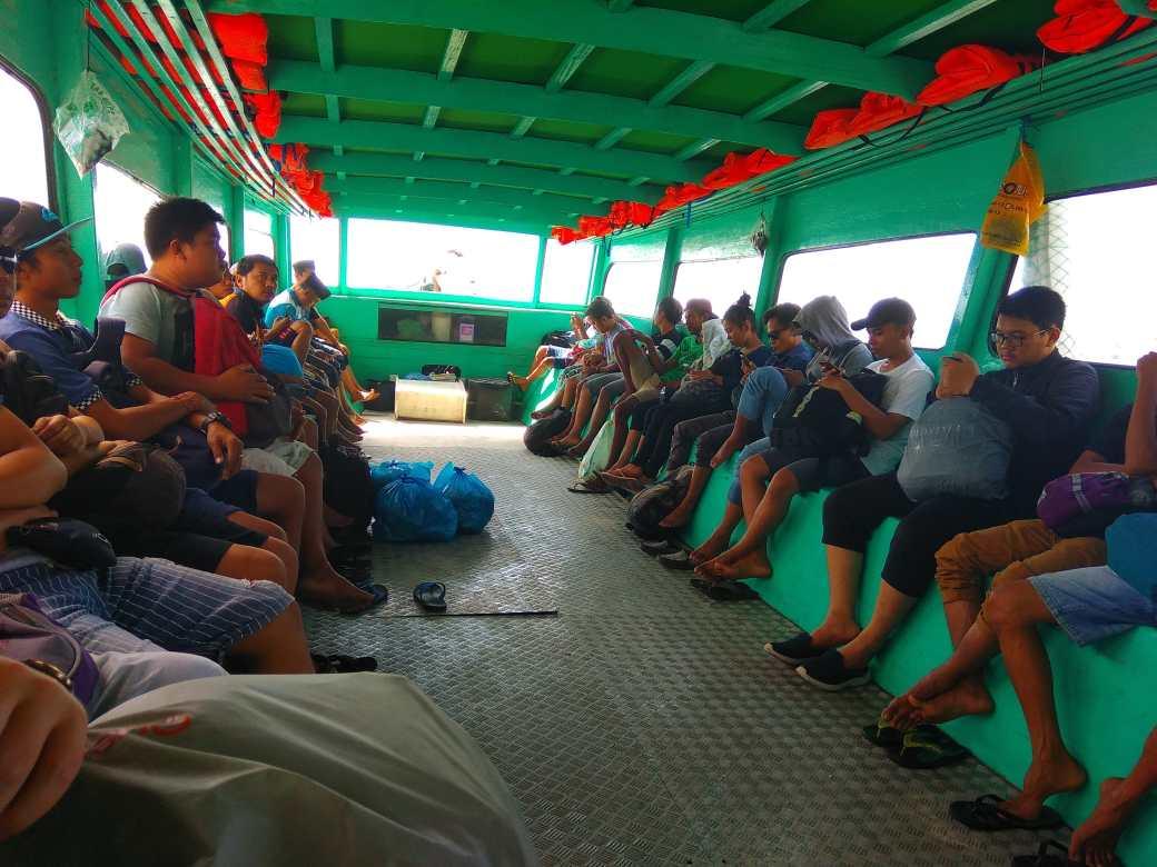 Public ferry Bengsal - Gili Trawangan (3)