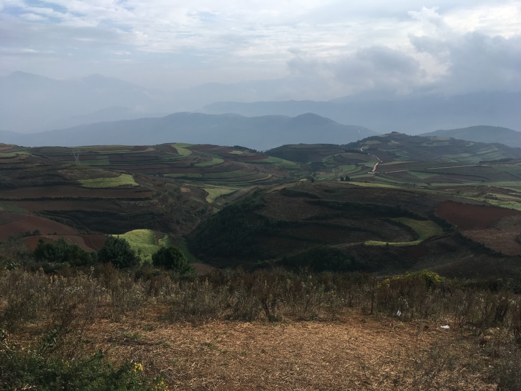 Red lands Dongchuan (4)