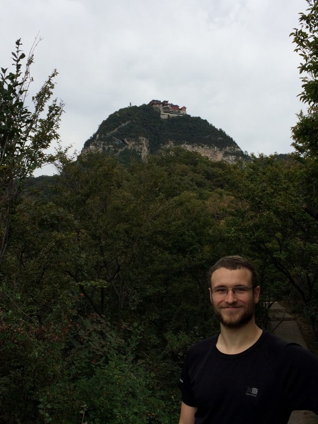 Temple au sommet Yuntaishan