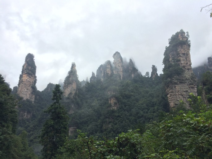 Zhangjiajie national Park (19)