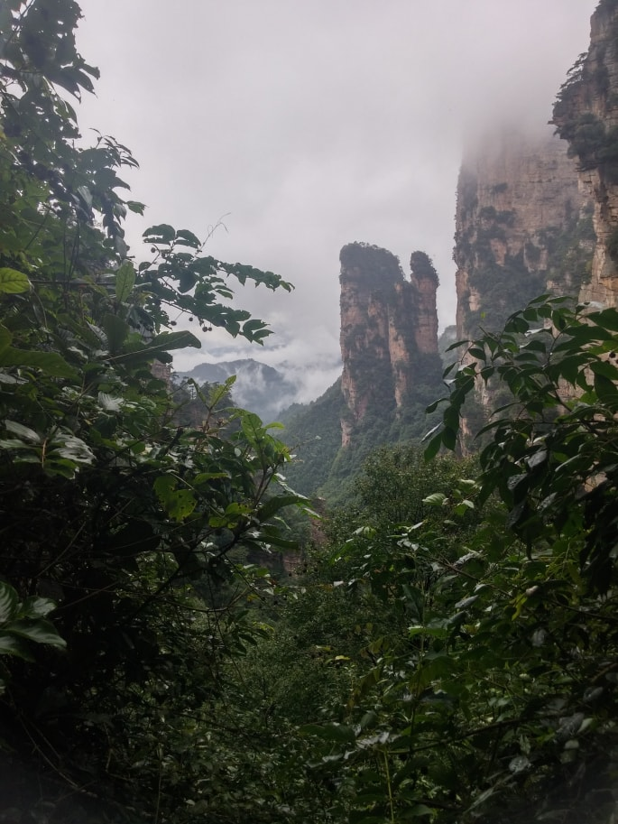 Zhangjiajie national Park (4)