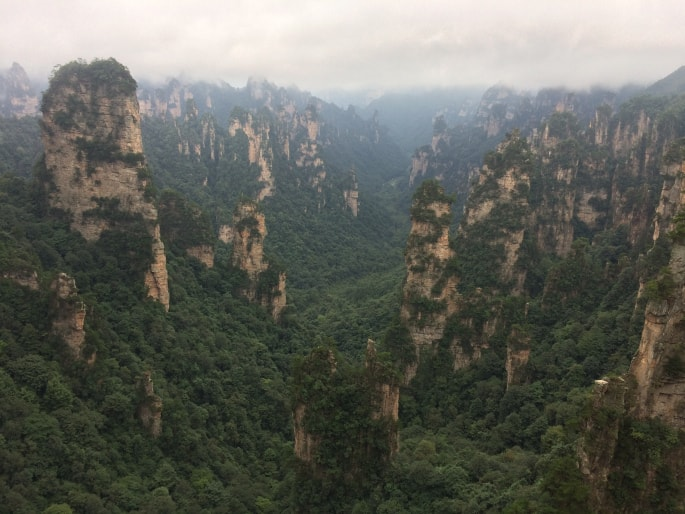 Zhangjiajie national Park (7)